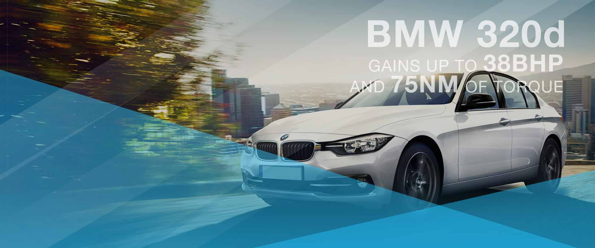 BMW 320d gains up to 38BHP and 75NM of torque