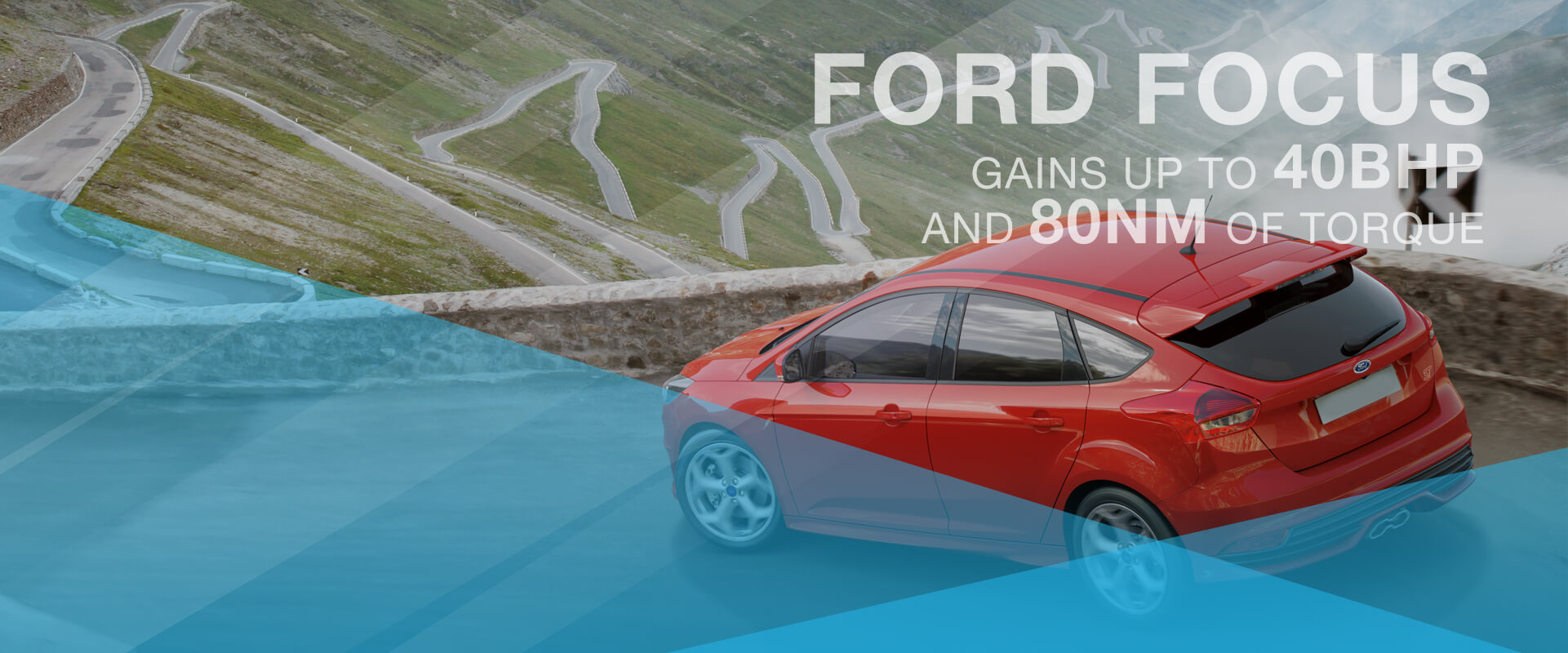 Ford Focus gains up to 40BHP and 80NM of torque