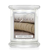 Comfy Sweater Kringle 14.5oz Candle Jar