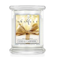 Gold & Cashmere Kringle 14.5oz Candle Jar