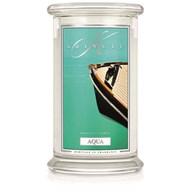 Aqua Kringle 22oz Candle Jar