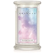 Watercolors Kringle 22oz Candle Jar