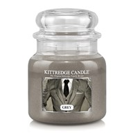 Grey Kittredge 16oz Candle Jar