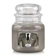 Grey Kittredge 16oz Candle Jar