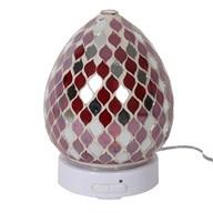 LED Ultrasonic Diffuser - Red Mirror Teardrop
