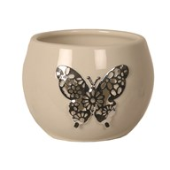 Ceramic Tealight Holder - Butterfly