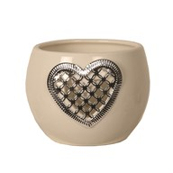 Ceramic Tealight Holder - Heart