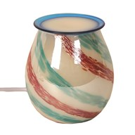 Electric Wax Melt Burner - Art Glass