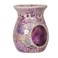 Wax Melt Burner - Purple Crackle