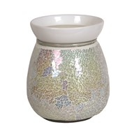 Electric Wax Melt Burner - Pearl Crackle