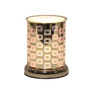 Cylinder 3D Electric Wax Melt Burner - Squares