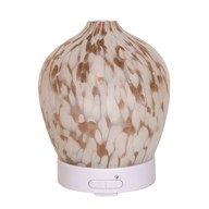 LED Ultrasonic Diffuser - Gold Art Glass