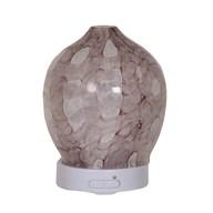 LED Ultrasonic Diffuser - Pink Art Glass