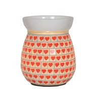 Electric Wax Melt Burner - Red Heart