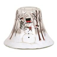 Candle Jar Lamp - Snowman