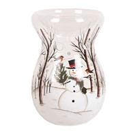 Wax Melt Burner - Snowman