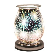 Oval 3D Electric Wax Melt Burner - Supernova