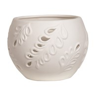 Ceramic Tealight Holder - Leaf
