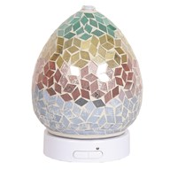 LED Ultrasonic Diffuser - Diamond Tricolour