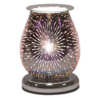 Oval 3D Electric Wax Melt Burner - Fountain