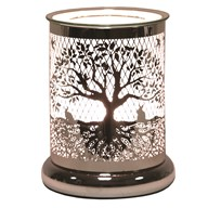 Silhouette Electric Wax Melt Burner - Tree Of Life