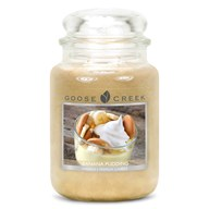 Banana Pudding Goose Creek 24oz Scented Candle Jar