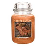 Autumn Comfort Premium 26oz (1219g) Fragranced Candle Jar