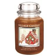 Gingerbread House Premium 26oz (1219g) Fragranced Candle Jar