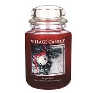 Jingle Bells Premium 26oz (1219g) Fragranced Candle Jar