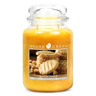 Butter Cookie Goose Creek 24oz Scented Candle Jar