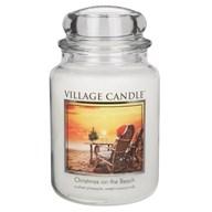 Christmas on the Beach Premium 26oz (1219g) Fragranced Candle Jar