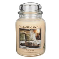 Cozy Home Premium 26oz (1219g) Fragranced Candle Jar