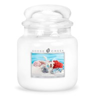 White Coral Goose Creek 16oz Scented Candle Jar