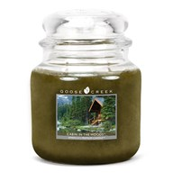 Cabin in the Woods Goose Creek 16oz Scented Candle Jar