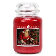 Night Before Christmas Goose Creek 24oz Scented Candle Jar