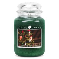 Classic Christmas Tree Goose Creek 24oz Scented Candle Jar