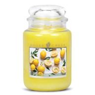 Lemon Peel Goose Creek 24oz Scented Candle Jar