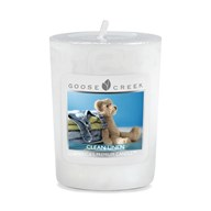 Clean Linen Goose Creek Scented Votive