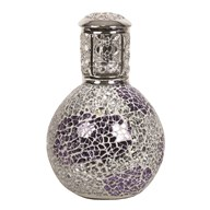 Fragrance Lamp - Purple & Silver