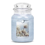 Wind Blown Cotton Goose Creek 24oz Scented Candle Jar