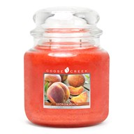 Georgia Peach Goose Creek 16oz Scented Candle Jar