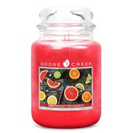 Grapefruit Mandarin Goose Creek 24oz Scented Candle Jar