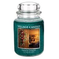 Home for Christmas Premium 26oz (1219g) Fragranced Candle Jar