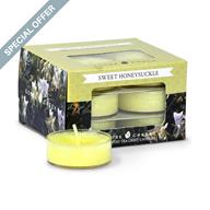 Sweet Honeysuckle Goose Creek Tea Lights