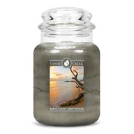 Mahogany Driftwood Goose Creek 24oz Scented Candle Jar