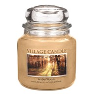 Amber Woods Premium 16oz (899g) Fragranced Candle Jar