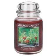 Nantucket Cranberry Premium 26oz (1219g) Fragranced Candle Jar