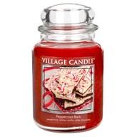 Peppermint Bark Premium 26oz (1219g) Fragranced Candle Jar