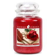 Pure Red Rose Goose Creek 24oz Scented Candle Jar