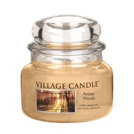 Amber Woods Premium 11oz (701g) Fragranced Candle Jar